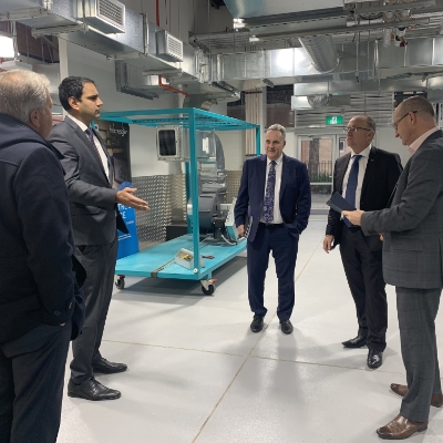 Assistant Minister for VET tours HVAC Centre of Excellence